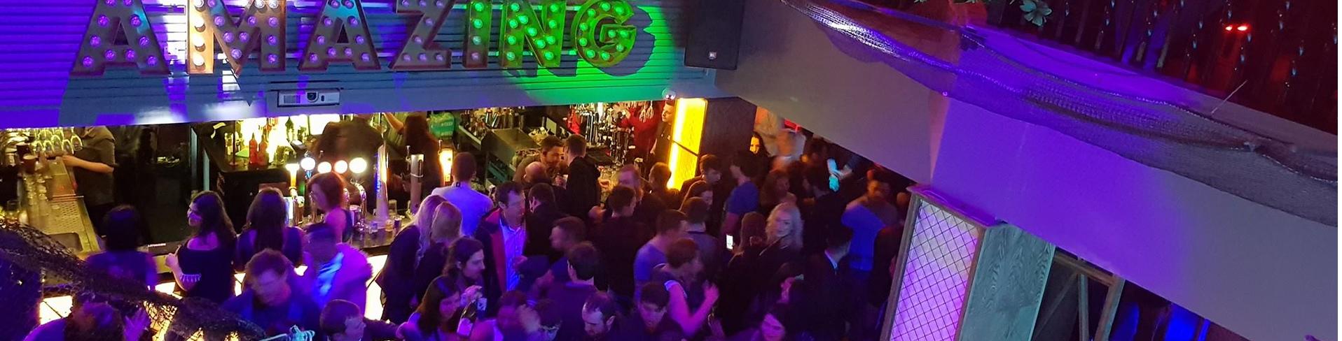 Dance floor at Garavogue Bar Sligo full of dancers